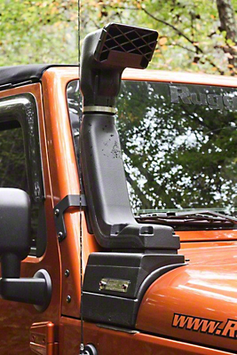 Rugged Ridge Modular XHD Low/High Mount Snorkel Kit (12-17 3.6L Wrangler JK)