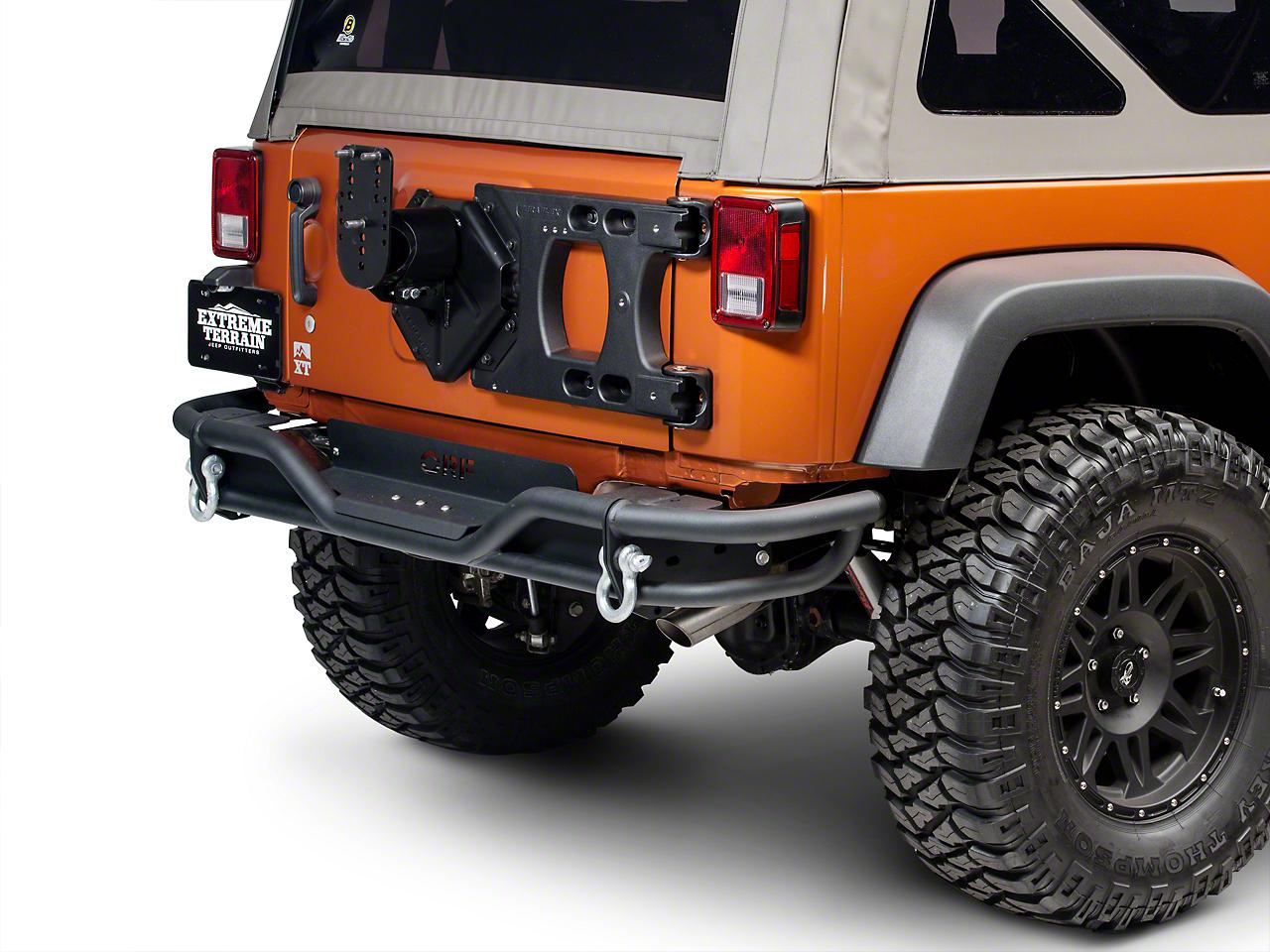 Teraflex HD Hinged Carrier with Adjustable Tire Mount (07-17 Wrangler JK)