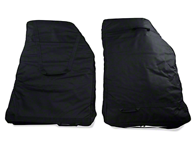 Rugged Ridge Rear Door Storage Bag Kit (07-17 Wrangler JK)
