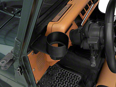 Rugged Ridge Cup Holder Windshield Mount (87-95 Wrangler YJ)