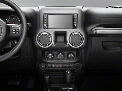Rugged Ridge Center Radio Console, Charcoal (11-17 Wrangler JK)