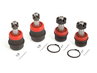Alloy USA 4-piece Ball Joint Kit (87-06 Wrangler YJ & TJ)