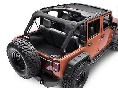 Rugged Ridge Eclipse Sun Shade (07-17 Wrangler JK)