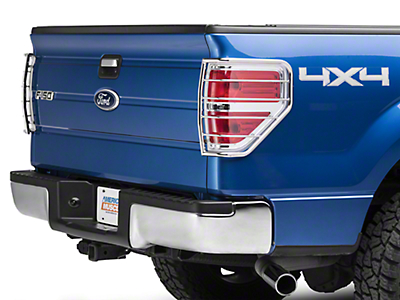 Barricade Tail Light Guard - Polished SS (09-14 Styleside, Excluding Raptor)