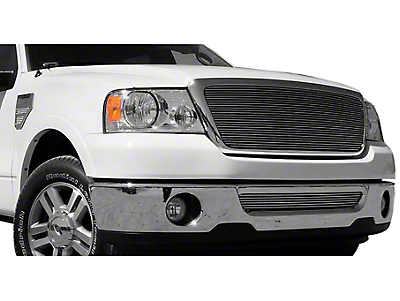 T-REX Billet Series Polished Upper Grille - Horizontal Full Opening (04-08 All)