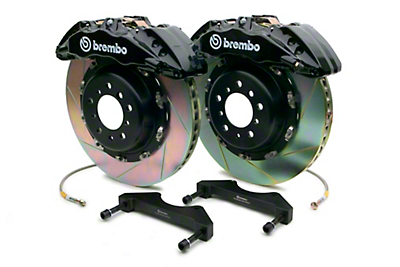 Brembo GT 6-Piston Front System - 15 in. Type 1 Slotted - Black (10-14 Raptor)