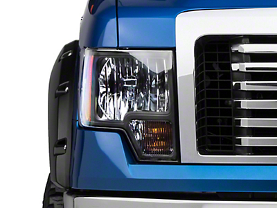 Axial Black Euro Style Headlights (09-14 w/o Factory HID)