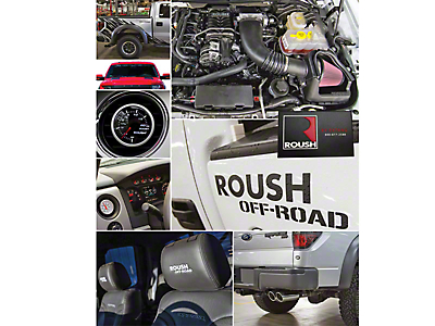 Roush R2300 590 HP Off-Road Supercharger Package - Phase 2 Kit (11-14 6.2L Raptor)