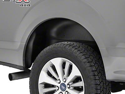 Husky Rear Wheel Well Guards - Black (15-17 All, Excluding Raptor)