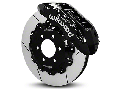 Wilwood Tactical Xtreme TX6R Front Brake Kit - Black (10-17 All)