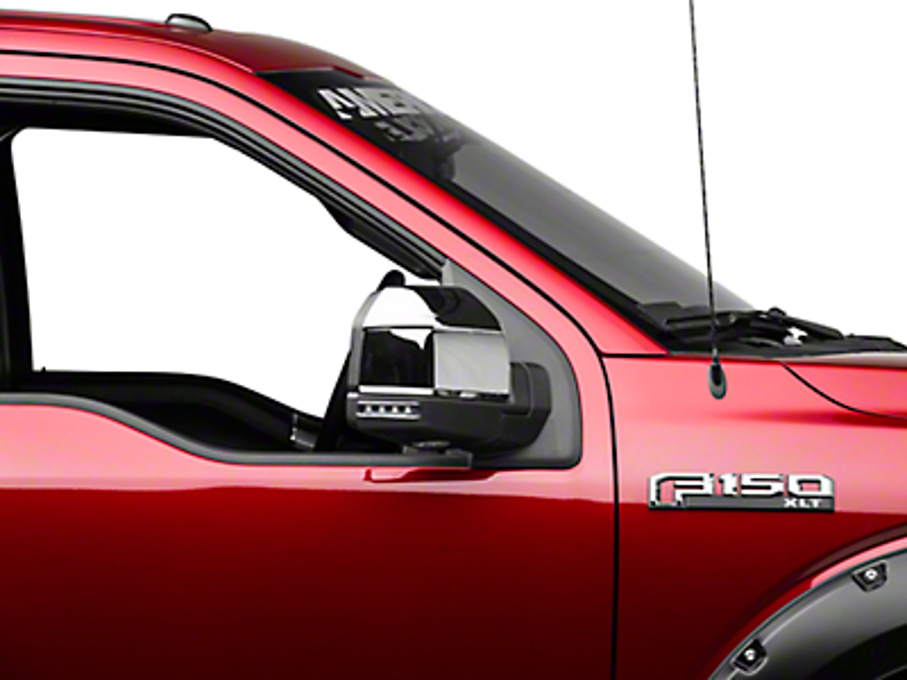 Carrichs ABS Mirror Covers - Chrome (15-17 w/ Standard Mirrors)