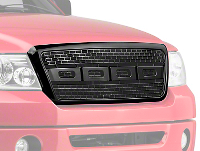 Barricade Raptor Style Grille - Black (04-08 All)