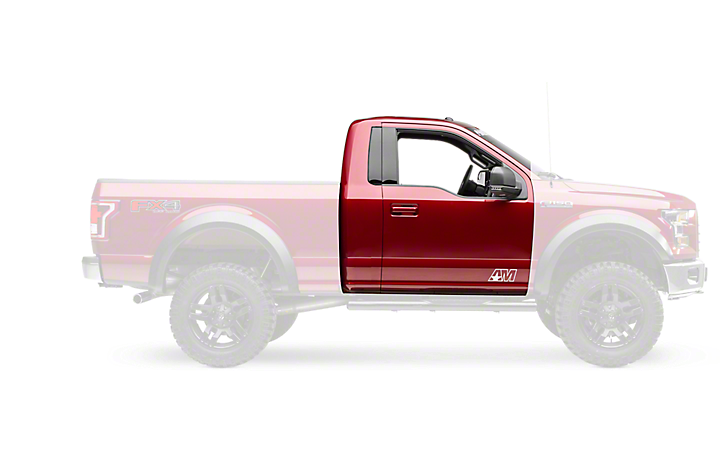2015 2018 f 150 side step bars running boards americantrucks regular cab 2015 2018 aloadofball Images