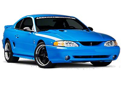 1994 1998 Mustang Hoods Americanmuscle
