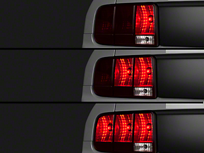 05 09 Mustang Sequential Tail Lights Br