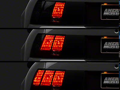 94 98 Mustang Sequential Tail Lights Br