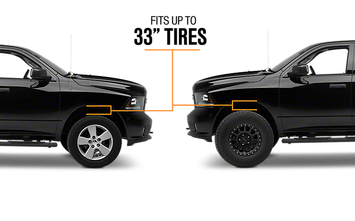 2009 2018 Ram 1500 Lift Kits Americantrucks