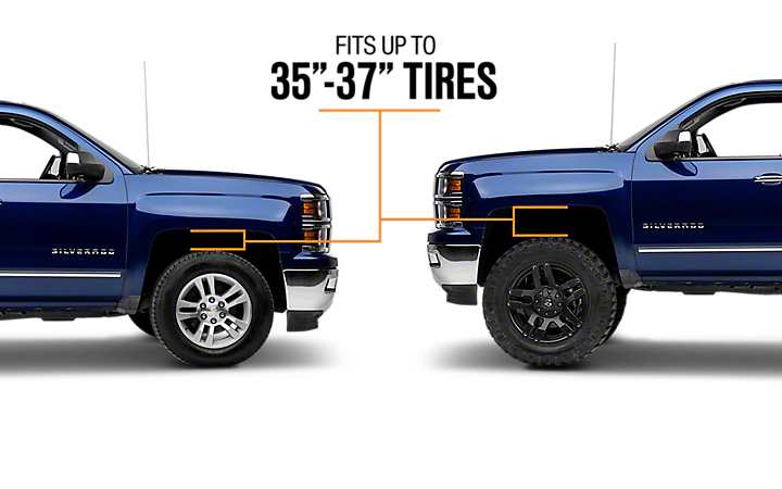 6 Inch to 8 Inch Lift Kits