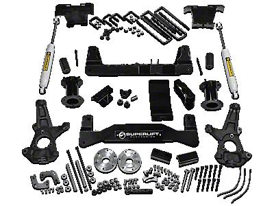 Max Trac Silverado Lowering Kit - 3 in. Front / 5 in. Rear S102254 (07-13 2WD/4WD Silverado 1500)