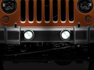 Raxiom Wrangler 6 LED Headlight replacement with partial Halo – Jeep Jk Parking Light Wiring