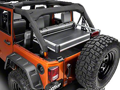 jeep wrangler rear cargo racks extremeterrain   free shipping
