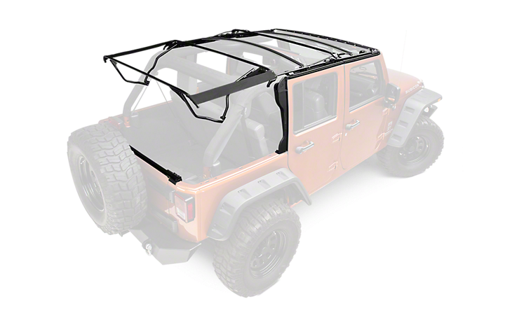 do you have a factory soft top or frame