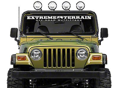 1997 2006 jeep wrangler light bars mounts extremeterrain light bars 1997 2006 aloadofball Images