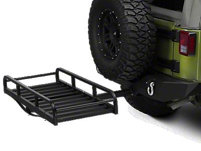 Barricade Jeep Wrangler Roof Rack Textured Black J100172