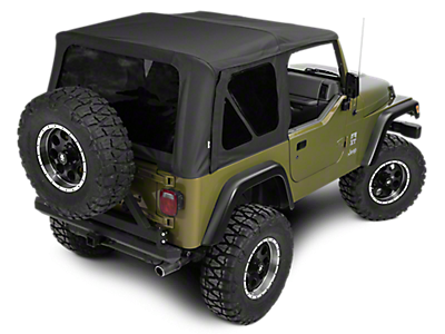 Jeep Wrangler Replacement Soft Top >> Jeep Wrangler Soft Tops Extremeterrain Free Shipping