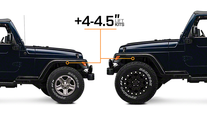1997 2006 jeep wrangler lift kits extremeterrain free shipping. Black Bedroom Furniture Sets. Home Design Ideas