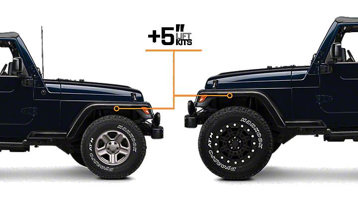 1997-2006 Jeep Wrangler Lift Kits | ExtremeTerrain - Free ...