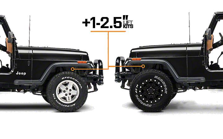Jeep Wrangler Lift Kits >> 1987 1995 Yj Jeep Wrangler Lift Kits Extremeterrain