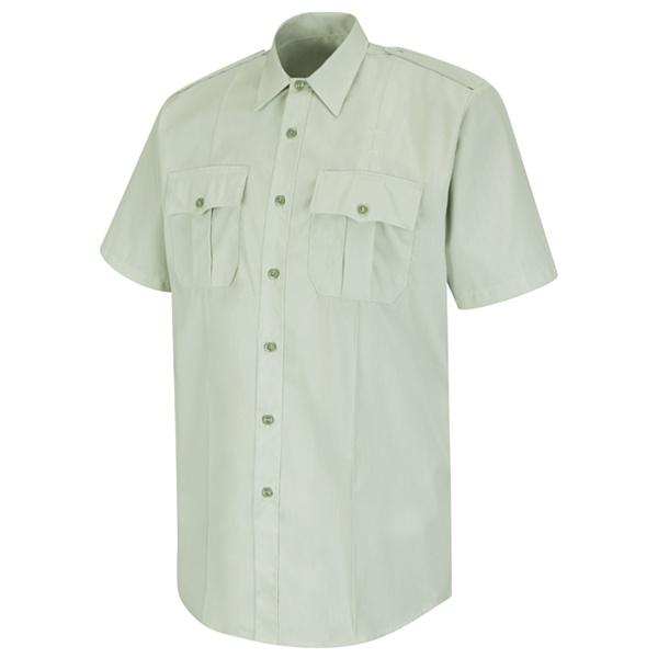 SS16 White Horace Small New Dimension Stretch Poplin Shirt