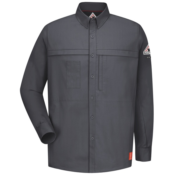 long sleeve pocketed shirt