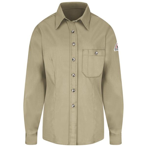 khaki dress shirt