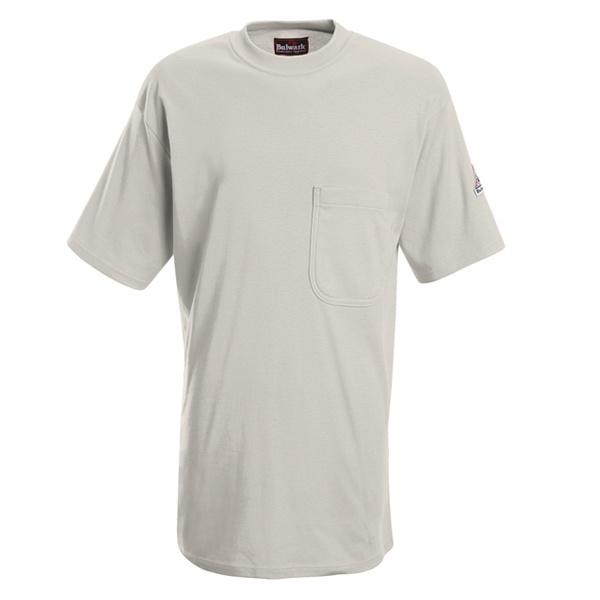 grey short sleeve tee