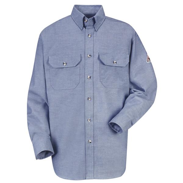 chambray uniform shirt