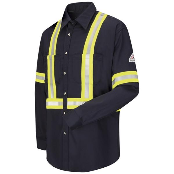 enhanced vis dress uniform shirt