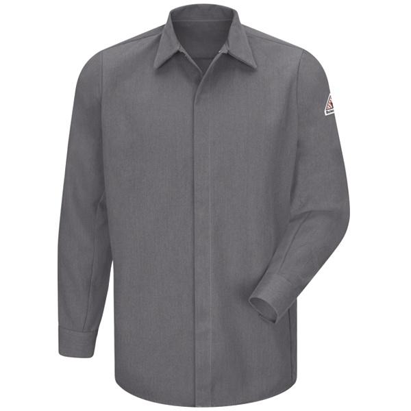 concealed gripper grey shirt