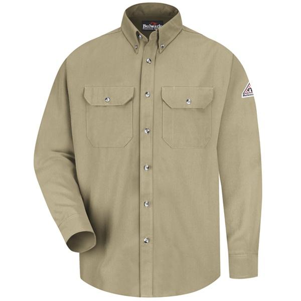 khaki dress uniform shirt
