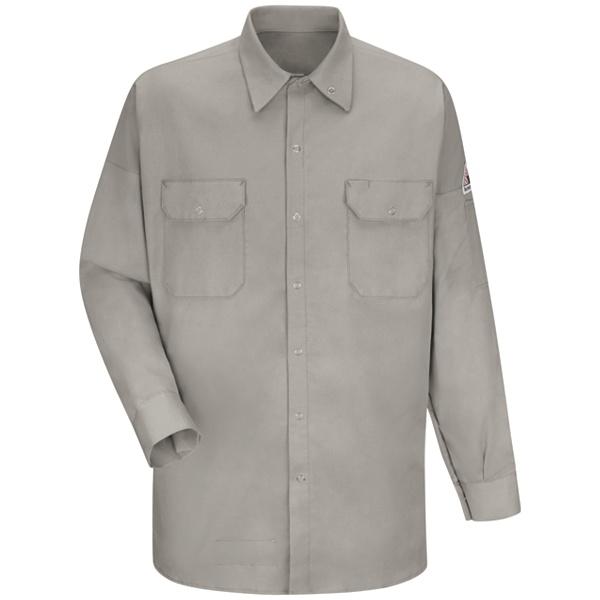 grey Welding Work Shirt