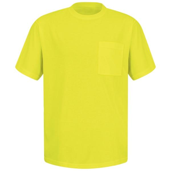 yellow Enhanced Visibility T-Shirt