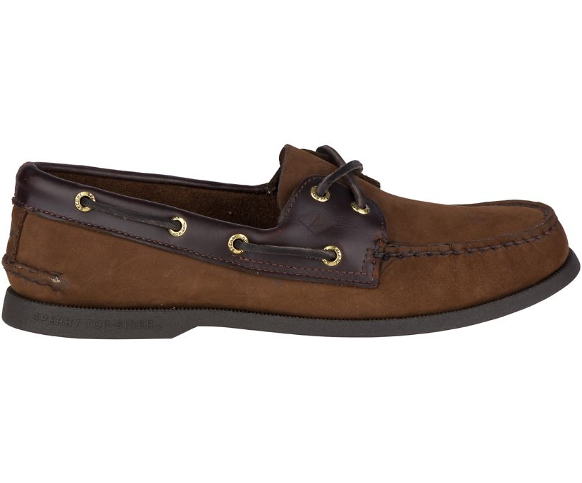 Authentic Original Boat Shoe, Brown Buc Brown, dynamic