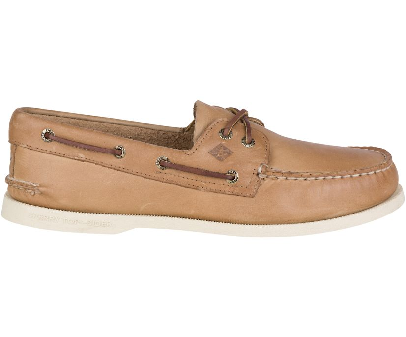 Authentic Original Leather Boat Shoe, Oatmeal, dynamic