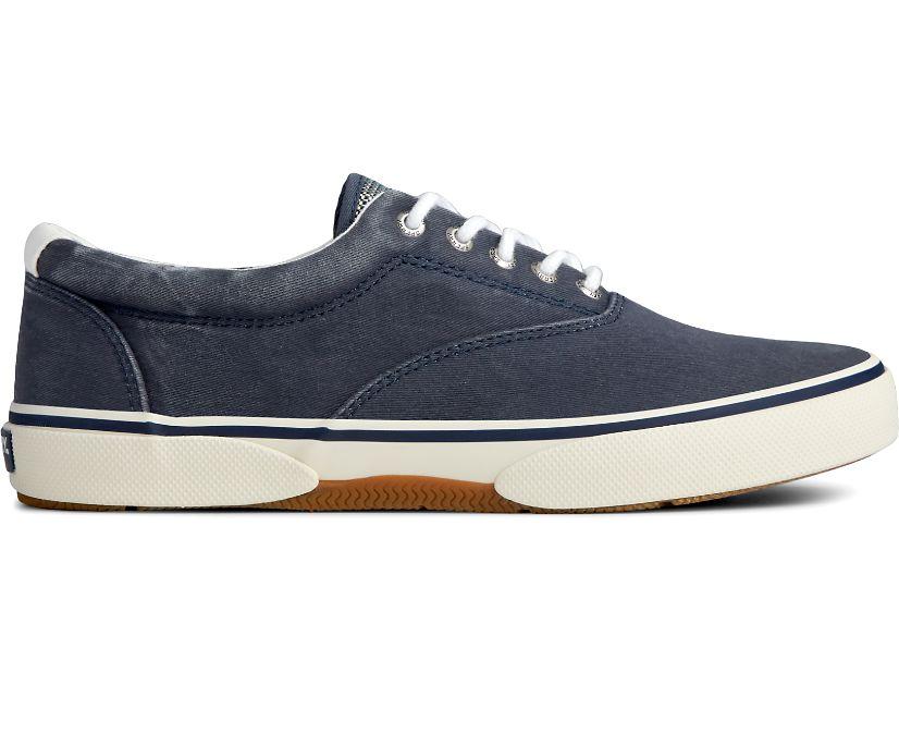 Halyard CVO Salt Washed Laceless Sneaker, Saltwashed Navy, dynamic