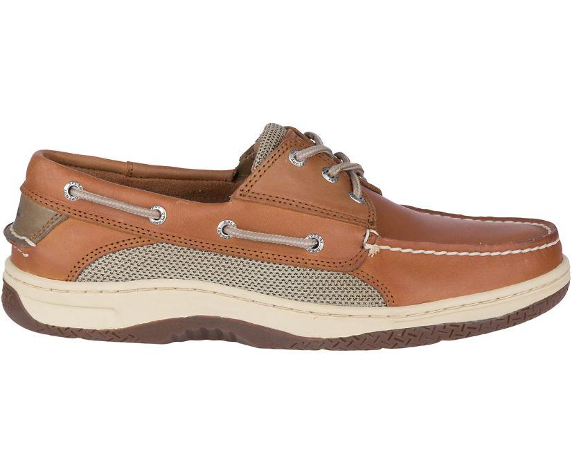 Billfish 3-Eye Boat Shoe, Dark Tan, dynamic