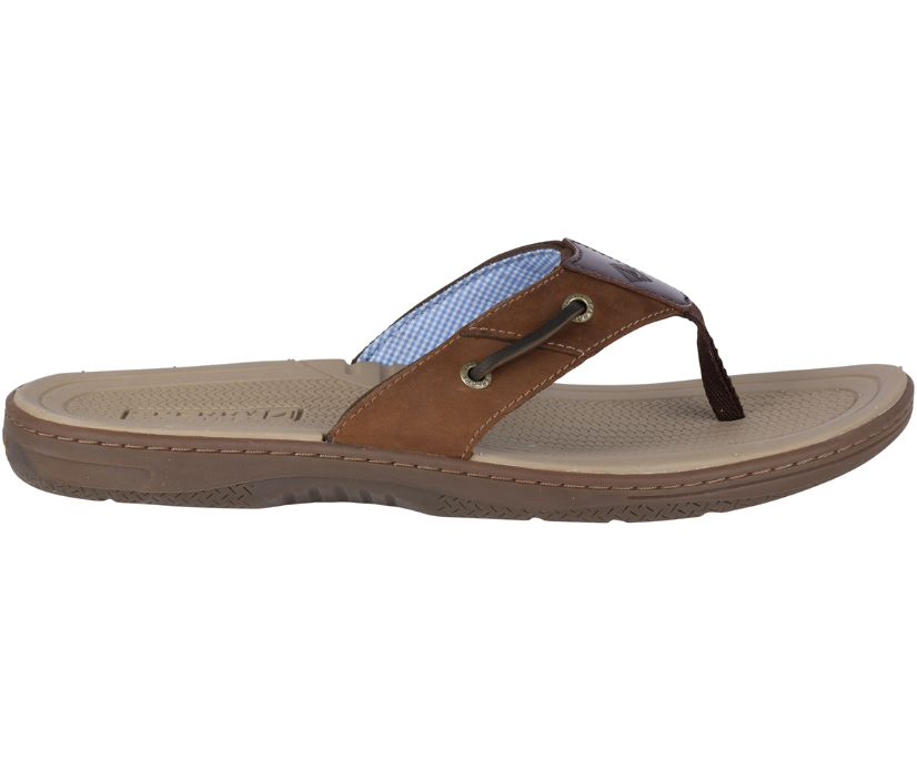 Baitfish Flip-Flops, Brown / Buc / Brown, dynamic