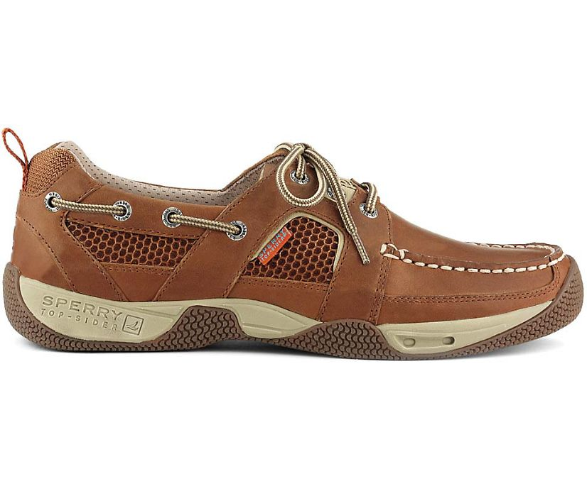 Sea Kite Sport Moc Boat Shoe, Dark Tan, dynamic