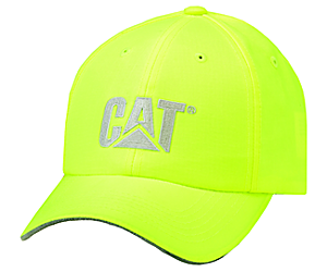 Hi-Vis Trademark Cap, Bright Yellow, dynamic