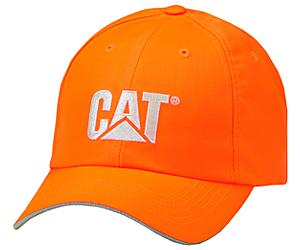 Hi-Vis Trademark Cap, Orange, dynamic